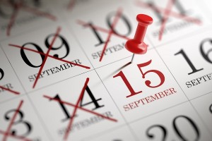 3rd Quarter Tax Payments - Due September 15th